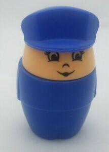 Step 2 Chunky Jumbo Airline Airplane Pilot Female Woman Blue Uniform Hat