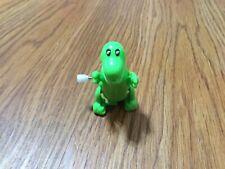 Small Green Wind-Up Plastic Dinosaur