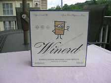 Winerd The Wine Tasting Game That Crushes Grape Fears~New & Factory Sealed!