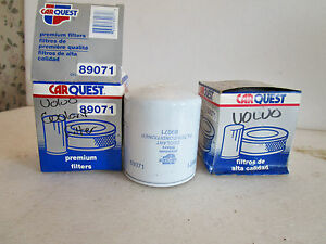 80-2013 Volvo Chevy Ford Coolant Filter Carquest 89071 XREF Wix 24071