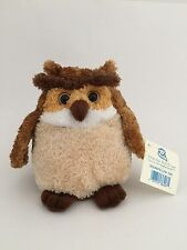 Princess Soft Toys Roundfellow Owl Plush 6""