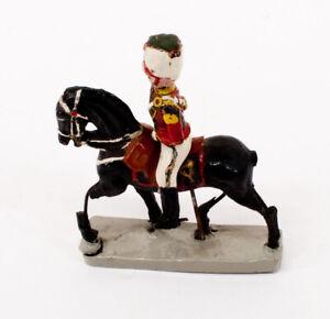 Vintage Durso Belgium Horse Rider Cavalry Toy Soldier Damaged H676
