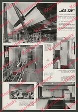 Luftschiff Bau LZ 129 Werft Friedrichshafen Technik Innendetails Breuhaus 1936