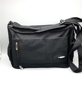 NWOT Everything Bag Metro Organizer Black Shoulder Bag