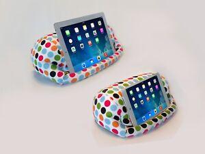 LAP PRO - MINI, Universal Beanbag Lap Stand for Tablets (Pokadot)