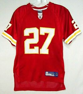 Reebok On Field Larry Johnson #27 Kansas City Chiefs Youth M NFL Jersey!
