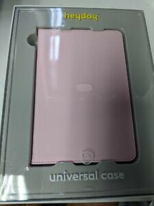 "Heyday Universal Case for 7-8"" Tablet (Apple, Samsung, Etc) - Pink"