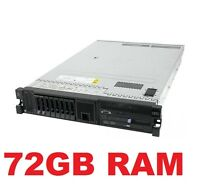 IBM x3650 M3 Server 2x HEX Core Xeon E5649 6 Core 2.53Ghz , 72GB RAM , 2x 300GB