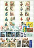 s33821 VATICANO MNH 2000 Complete  YEAR SET 38v + s/s    2 scans