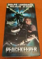 The Peacekeeper VHS CFP Video Dolph Lundgren Roy Scheider