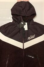 NIKE NSW WINDRUNNER JACKET FULL ZIP SHERPA JACKET COAT BRAND NEW WITH TAGS MED.