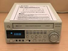 Mitsubishi Hs-Md3000U Svhs Vhs Pro Vcr Clean Tested Works Great Free Shipping