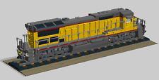 Lego Custom Instruction Diesel locomotive 2 ( instruction only)