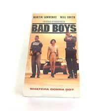 Bad Boys VHS 1995 Martin Lawrence, Will Smith New Sealed Retro Gift #6414