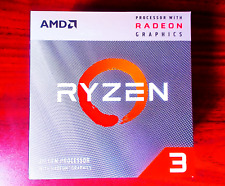 AMD Ryzen 3 3200G 3.6 GHz Base & 4.0 GHz Boost Quad 4 Core AM4 CPU Processor