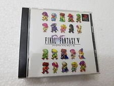 PSX SONY PLAYSTATION JAP NTSC FINAL FANTASY V - SQUARESOFT - NO SPINE