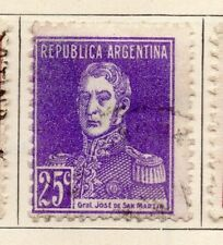 Argentine Republic 1923 Early Issue Fine Used 25c. 183002