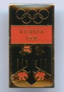 Germany Atlanta 1996 Olympic Games NOC Badge Pin Nice Grade !!!