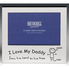 I Love My Daddy Photo Frame 5x3.5 Birthday Fathers Day Gift Dad Present Occasion