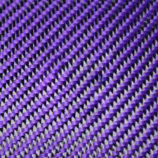 Aramid Carbon Fiber Blended Fabric Cloth Red/Yellow/Blue/Green/Purple/Grey Black