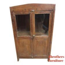 ffd70d495ef7e Antique Primitive architectural salvage Hutch China Cabinet Cupboard m H
