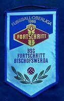 Orig. Wimpel BSG Fortschritt Bischofswerda DDR Oberliga 1986 Fussball Sachsen