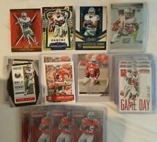 EZEKIEL ELLIOTT ROOKIE CARD LOT RC AND SERIAL NUMBERED CARDS 20 CARD LOT