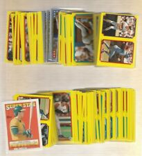 1988 Topps Baseball Sticker Set Mint W/Album(313)