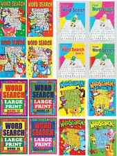 4 WORDSEARCH PUZZLE BOOKS A4 A5 A6 SIZE FOR ADULTS & CHILDREN WORD FINDER SEARCH