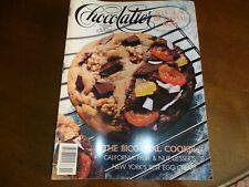 CHOCOLATIER MAGAZINE Nov 1987 Jack Daniels Ice Cream & Egg Creme Recipe Exc