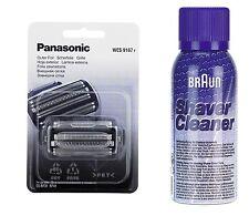 Panasonic WES 9167y pellicola di deformazione tangenziale es-rf31 rf41 + Marrone SPRAY di pulizia