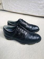 New listing Footjoy Dryjoy Tour Golf Shoes Black. UK 10 Medium Width VGC RRP £150