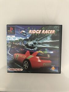 Ridge Racer Sony PlayStation 1, PS1, Namco Rental Version Rare (not For Resale)