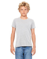 Bella + Canvas Youth Jersey Short-Sleeve T-Shirt 3001Y 100% Cotton S-XL T Shirt