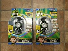 LOT OF 2 Playmates TOYS Ben 10 Deluxe Omnitrix Role Play Watches