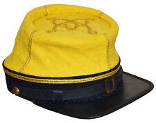 American Civil War Confederate 1862 Cavalry Yellow Captains Kepi Medium 56/57cms