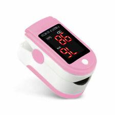 Pink Finger Pulse Oximeter Blood Oxygen Sensor Spo2 Pulse Rate Heart Monitor