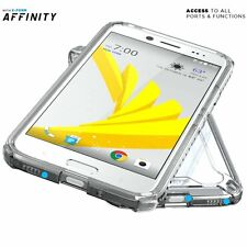 For HTC Bolt (2016) Case Clear POETIC【Affinity】Shockproof Dual material Bumper