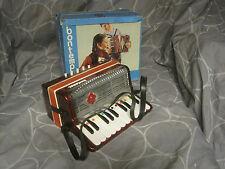 ancien jouet ,  accordéon enfant BONTEMPI dans sa boite