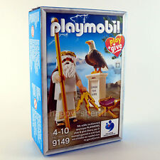 Playmobil Play+Give 9149 Ancient Greek God Zeus Figure New Exclusive Collectible