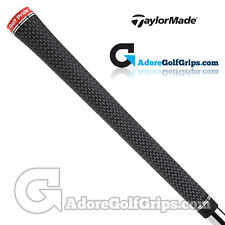 TaylorMade Tour Velvet 360 Grips By Golf Pride - Black / Red x 3