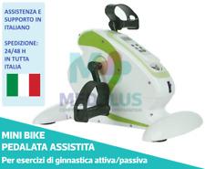 PEDALIERA ELETTRICA GINNASTICA ATTIVA/PASSIVA MINI BIKE CYCLETTE BRACCIA GAMBE