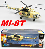Easy Model 1/72 Russian Air Force Mi-8T, Yellow 09 Helicopter Plastic #37040