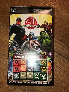Dice Masters Marvel Avengers Age Of Ultron 2-player Starter Set For Dice Game