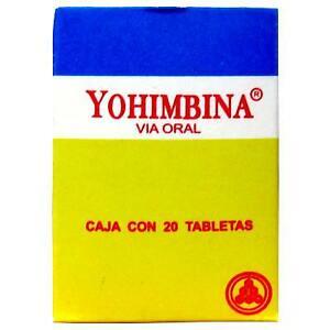 NO GOTAS SEXUALES ESTAS SON PASTILLAS YOHIMBINA YUMBINA YOMBINA 20 PILLS