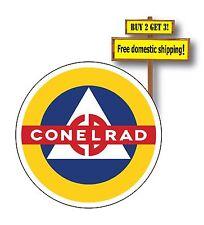 Control of Electromagnetic Radiation Decal/Sticker HAM Radio CONELRAD Civil P43
