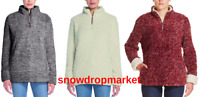 NWT!!! Weatherproof Vintage Women's Frosty Tipped Sherpa Pullover, Variety