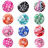 Round Glass Crackle Drawbench Beads DIY ( 100 - 6mm ) ( 50 - 8mm ) (15 - 10mm )