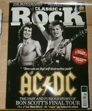Classic Rock magazine #294 2021 AC/DC Bon Scott's final tour +Stones Springsteen