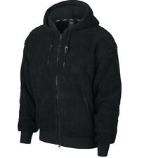 Nike SB Sherpa Zip Hoody Jacket CJ6600-010 Black Colour Size L New